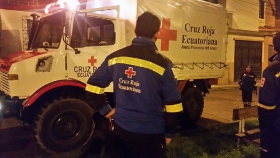 Cruz Roja activada para ayudar en rescate Sismo Ecuador