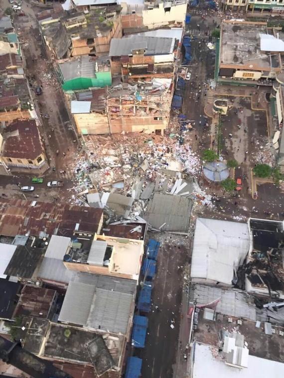 Consecuencias sismo Ecuador - Portoviejo