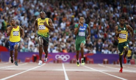 Semifinal 200 metros Londres 2012
