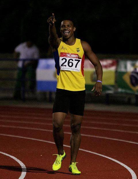 Alex Quiñonez Sudamericano de Atletismo 2013