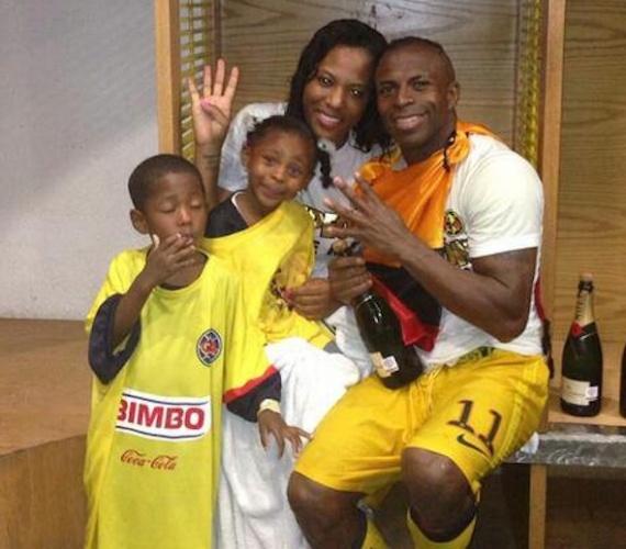 Chucho Benitez y su familia